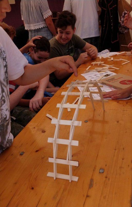 Leonardo Brücke Bausatz