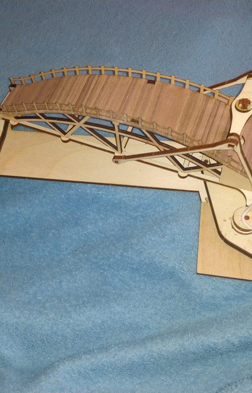 Schwenkbare Brücke