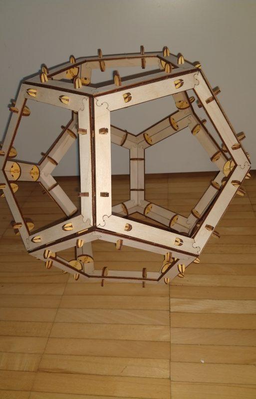 Dodekaeder – Platonischer Körper