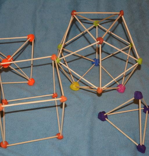 Knetmasse Geometrie