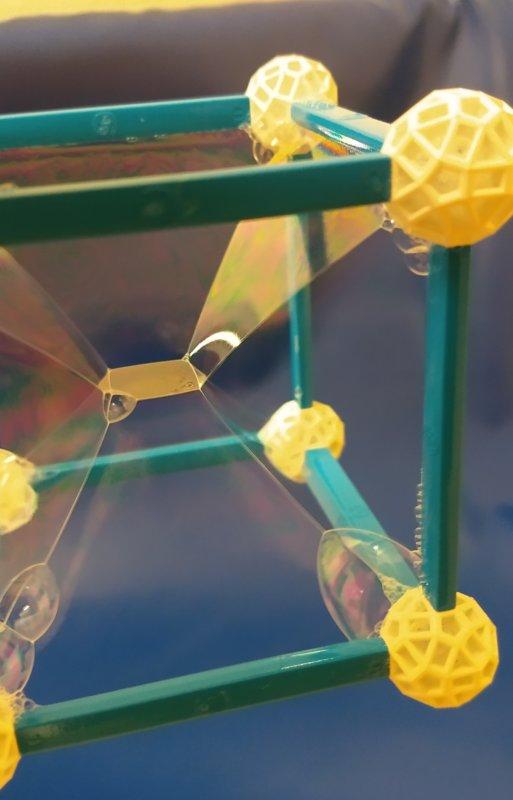 Seifenblasen Geometrie