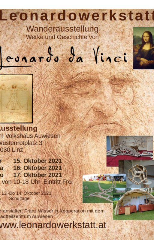Leonardowerkstatt Auststellung